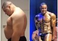 267 kilograms of strength brawny, after using drugs for 20 weeks! The big belly turns into six packs!